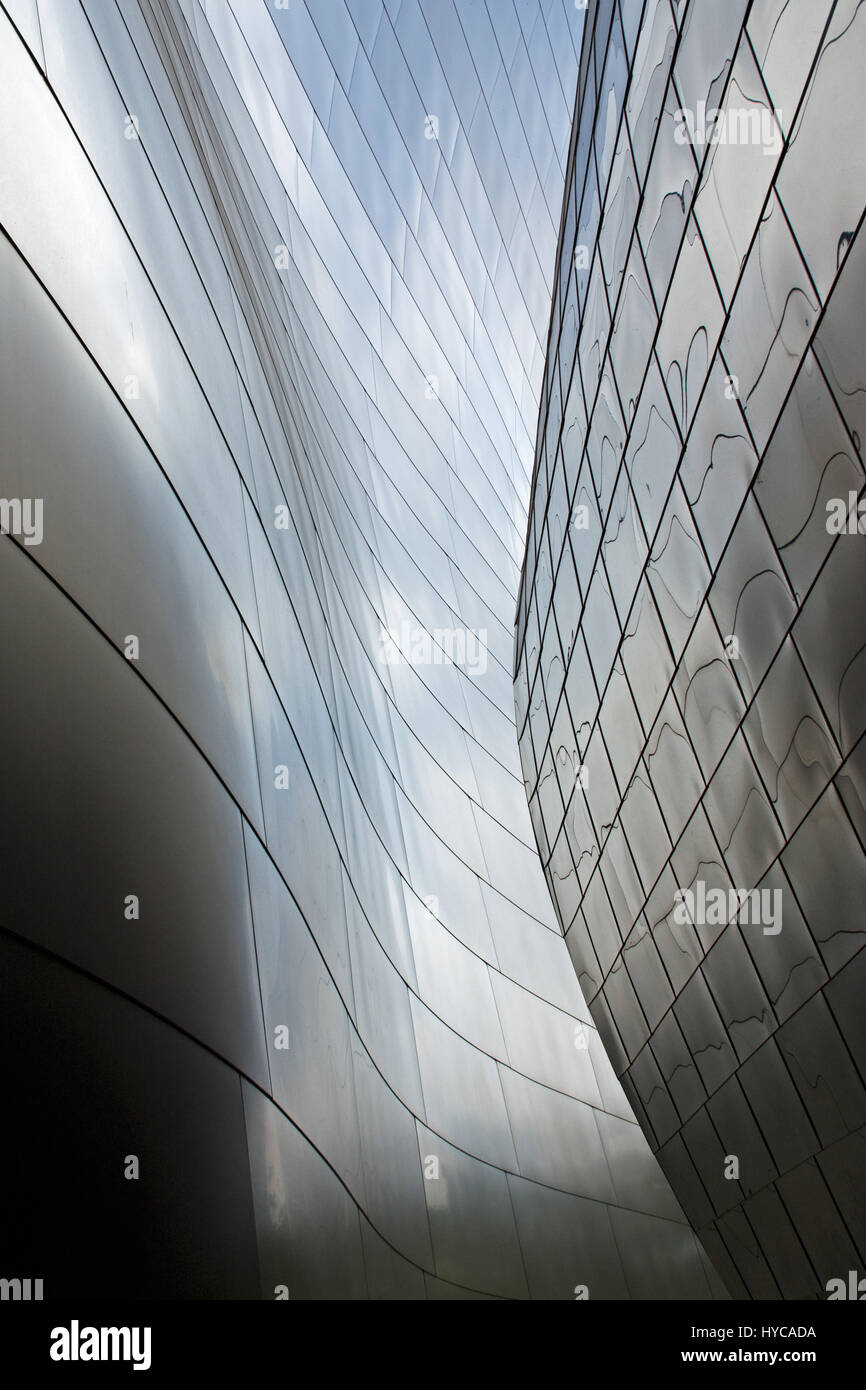 walt disney concert hall, los angeles, united state of america Stock Photo