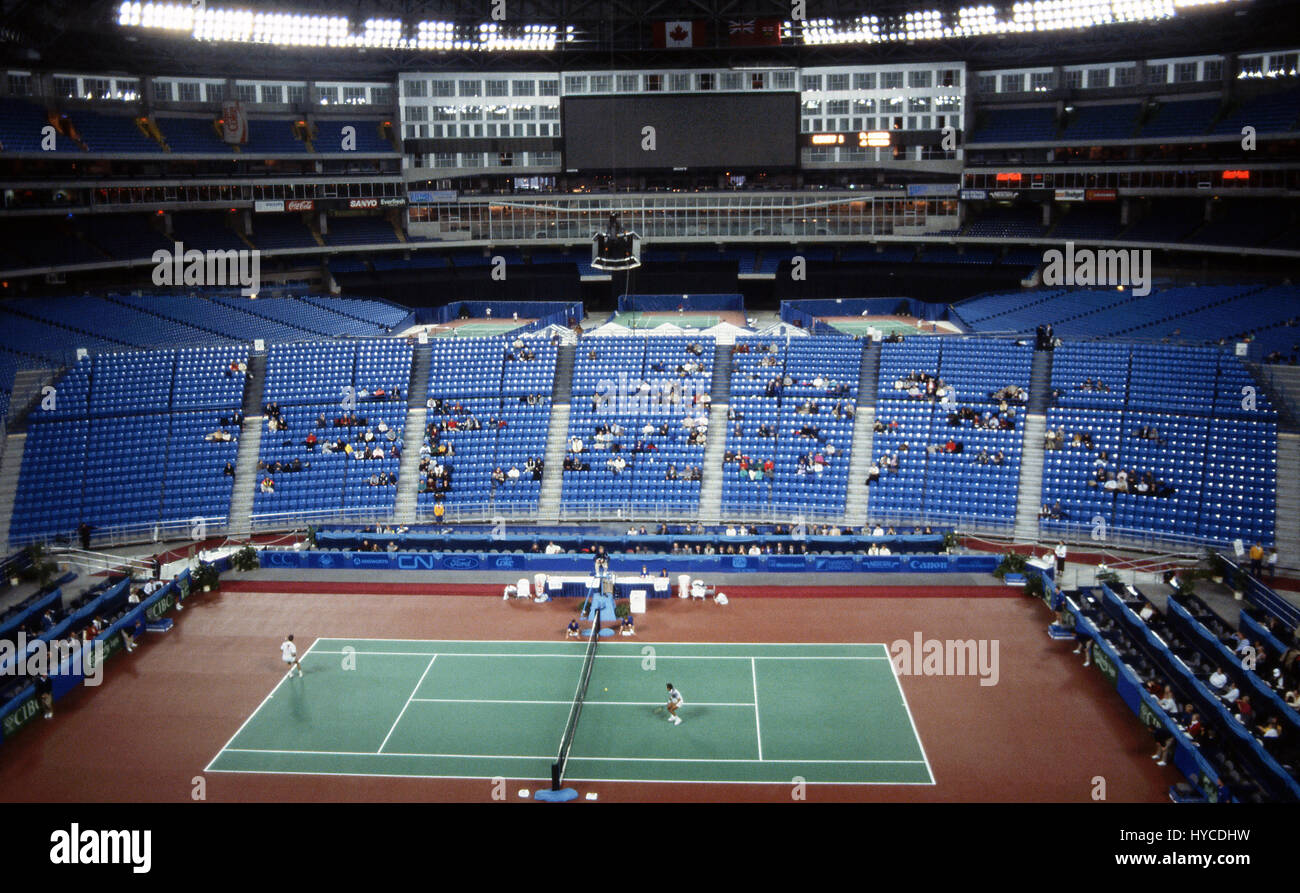 The Toronto Indoor (also known as Skydome World Tennis in 1990) was a professional men's tennis tournament played - Stock Image