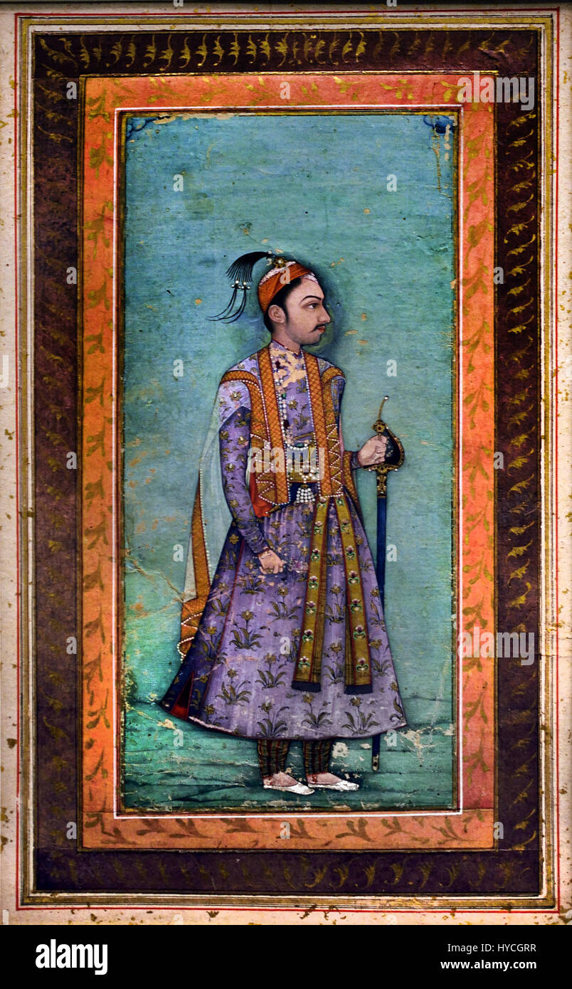 Abdullah QuAbdullah Qutb Shah was the seventh ruler of the kingdom of Golconda in southern India under the Qutb - Stock Image