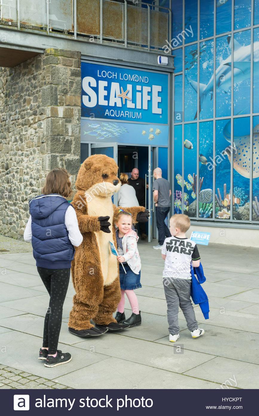 Sealife Centre Loch Lomond Shores Balloch Scotland UK - Stock Image