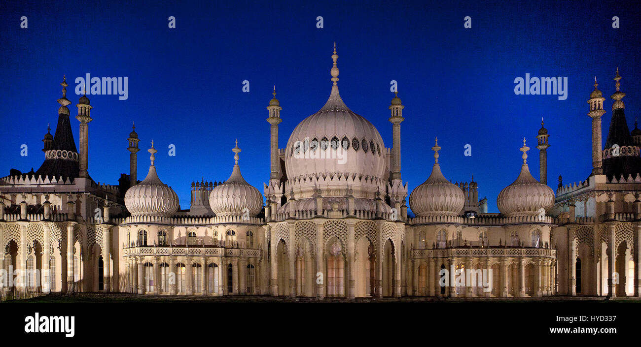 Brighton Royal Pavillion - Stock Image