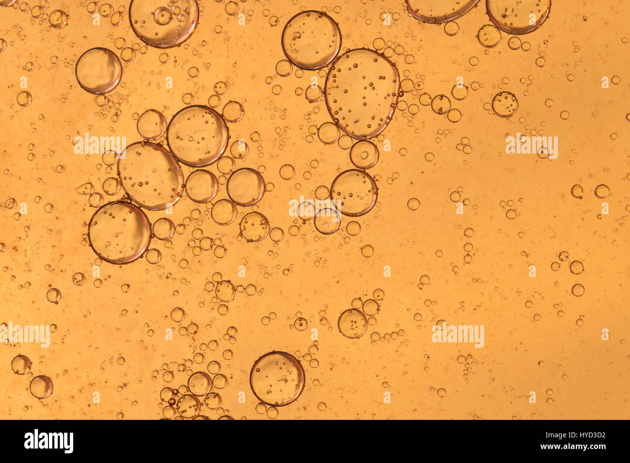 Bubbles. Neutral colours for science type background. - Stock Image