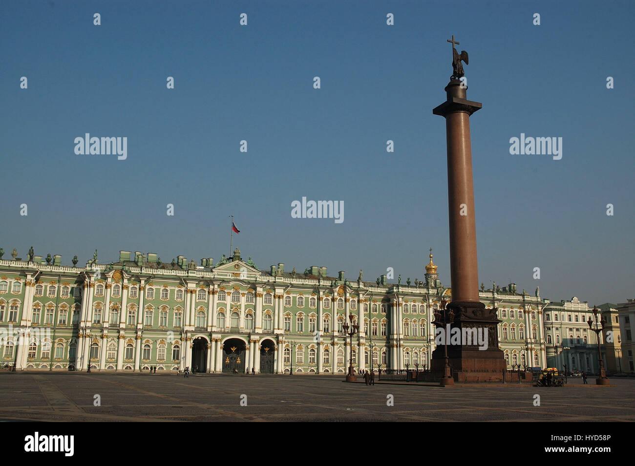 The State Hermitage Museum, Sankt-Peterburg, Russia Stock Photo