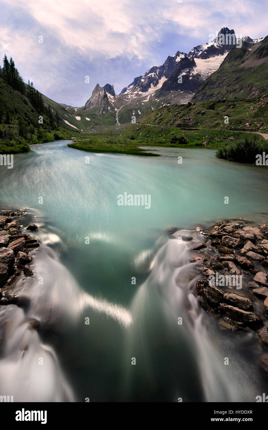 The name of this place is a bit misleading, as instead of a lake there are streams and small ponds.  However, there Stock Photo
