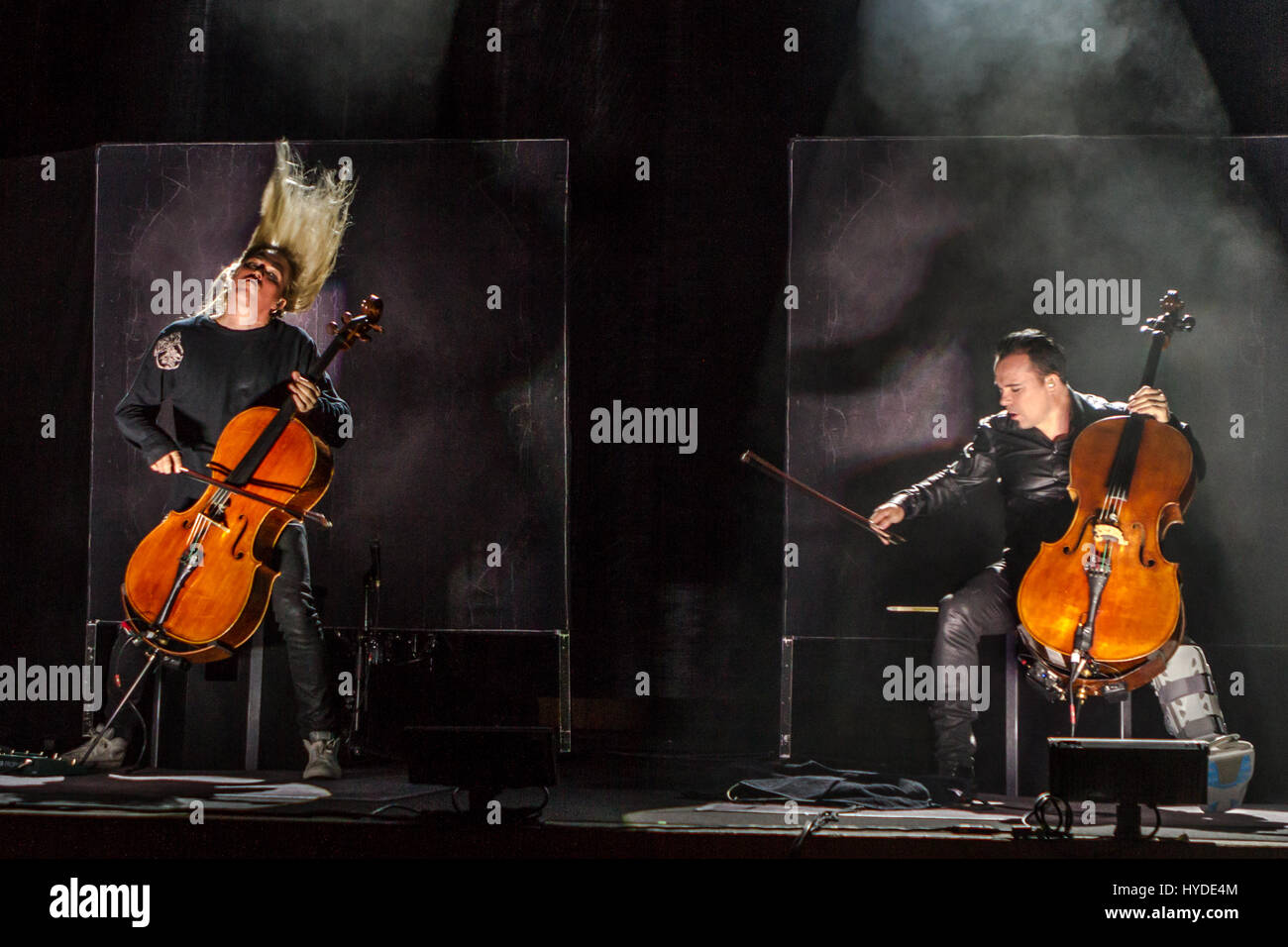 Finnish band Apocalyptica playing Metallica songs live in