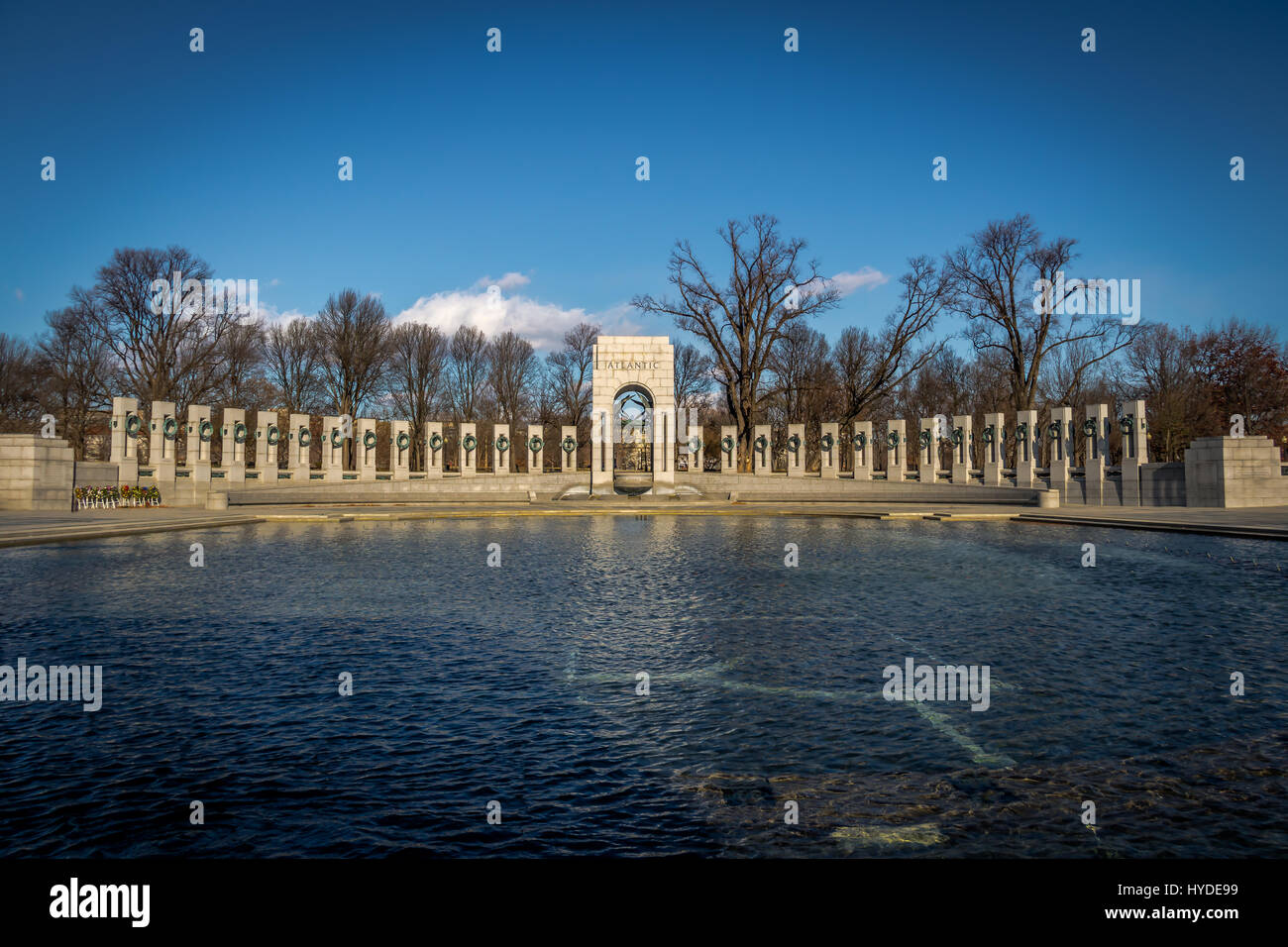 World War II Memorial - Washington, D.C., USA - Stock Image