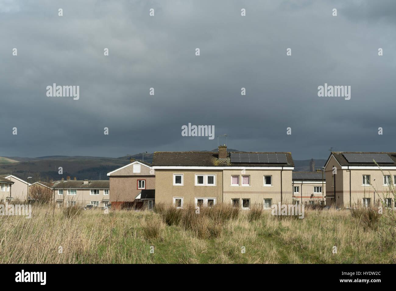 Raploch housing estate, Raploch, Stirling, Scotland, UK Stock Photo