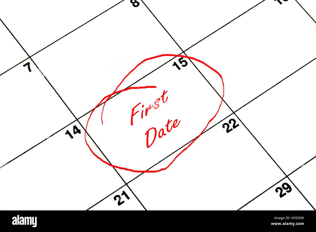 Calendar Date Circled Stock Photos Calendar Date Circled Stock