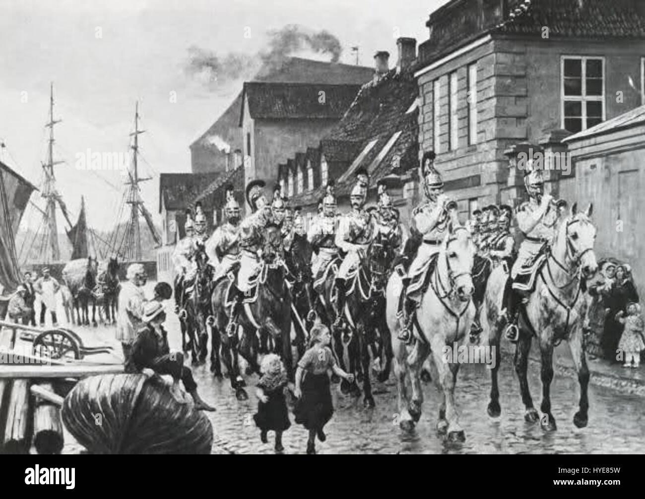 Otto Bache   Frederiksholms Kanal - Stock Image
