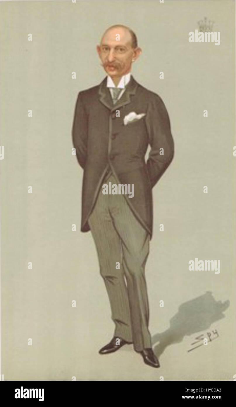 Earl of Yarborough Vanity Fair 2 January 1896 - Stock Image