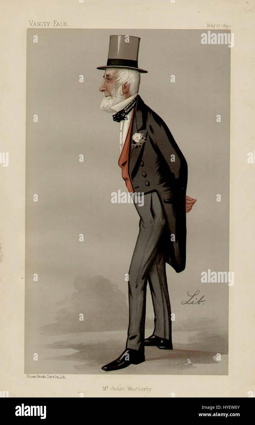 James Weatherby Vanity Fair 1890 05 17 - Stock Image