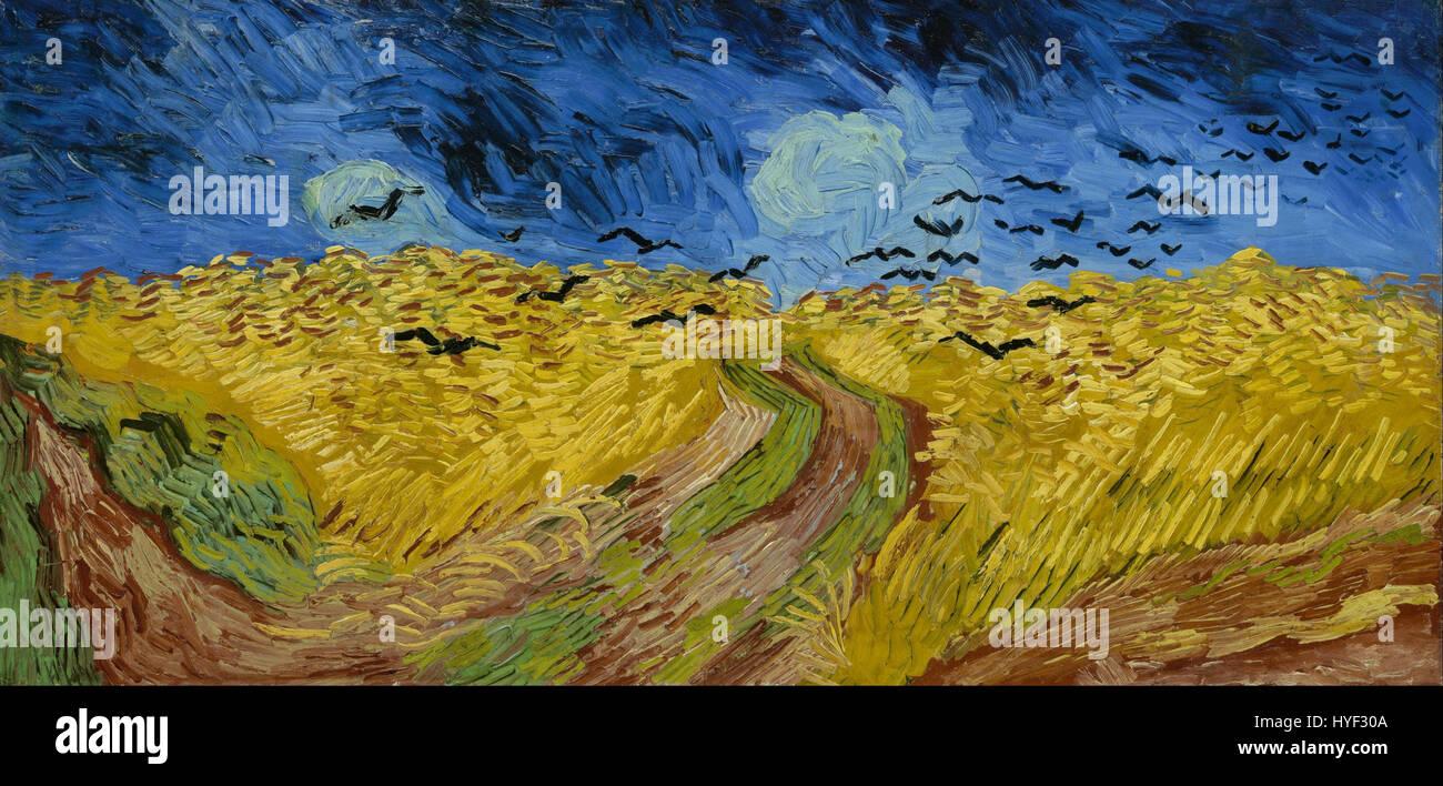 Wheatfield By Van Gogh Stock Photos Amp Wheatfield By Van