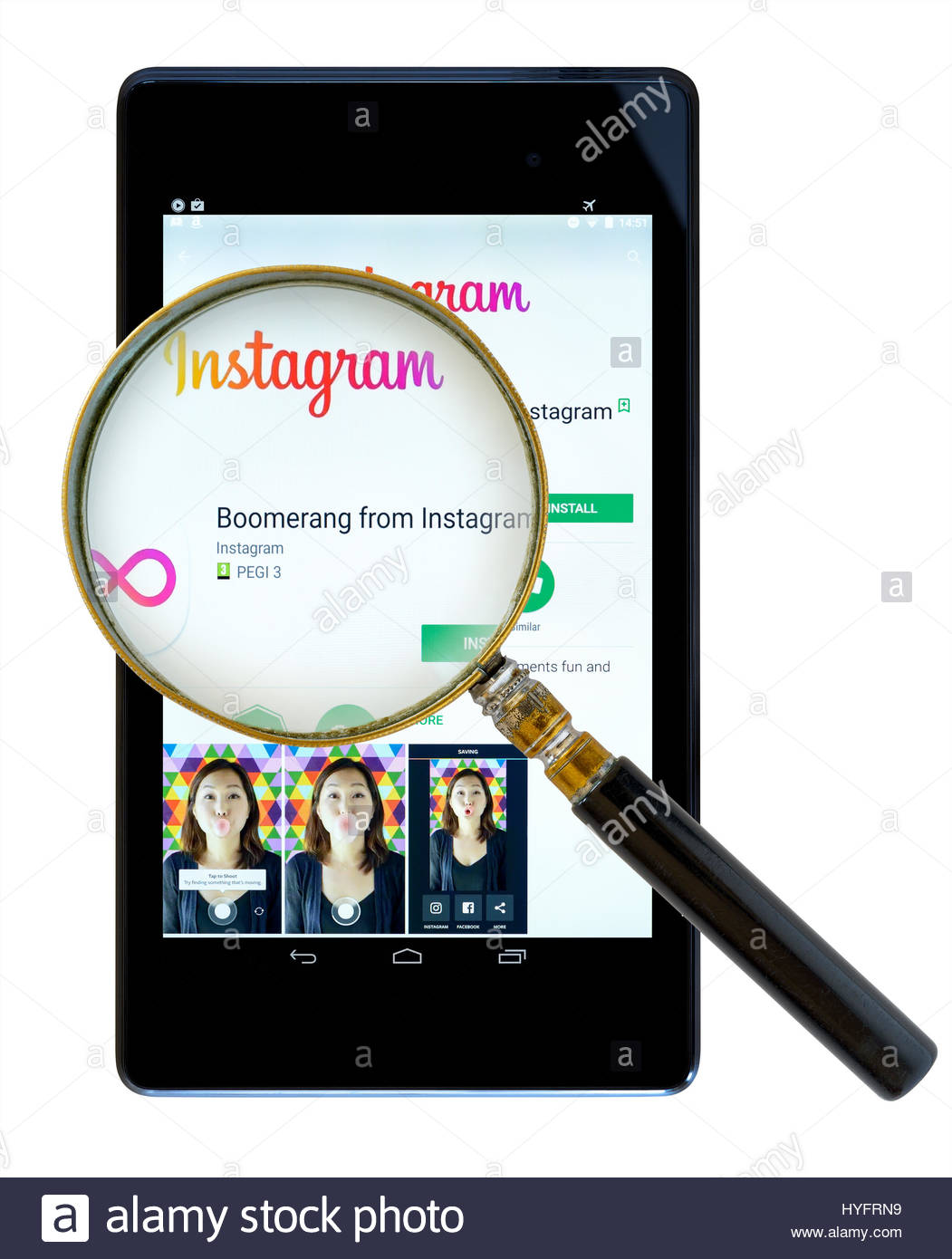 instagram app for android tablet