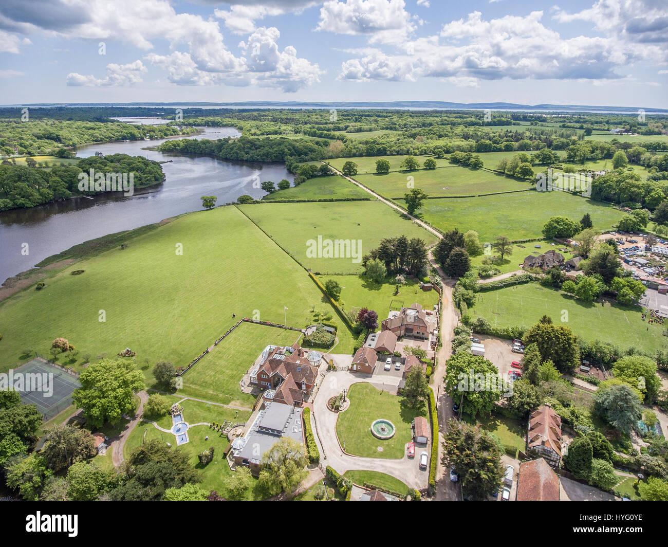 Aerial Photography UK - Stock Image