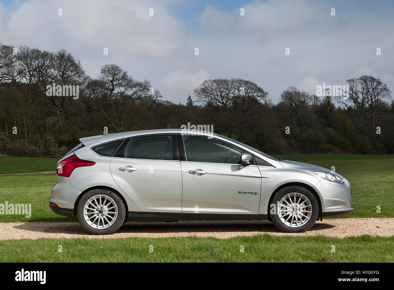 2014 Ford Focus Electric Car Stock Photo 137420292 Alamy Motor