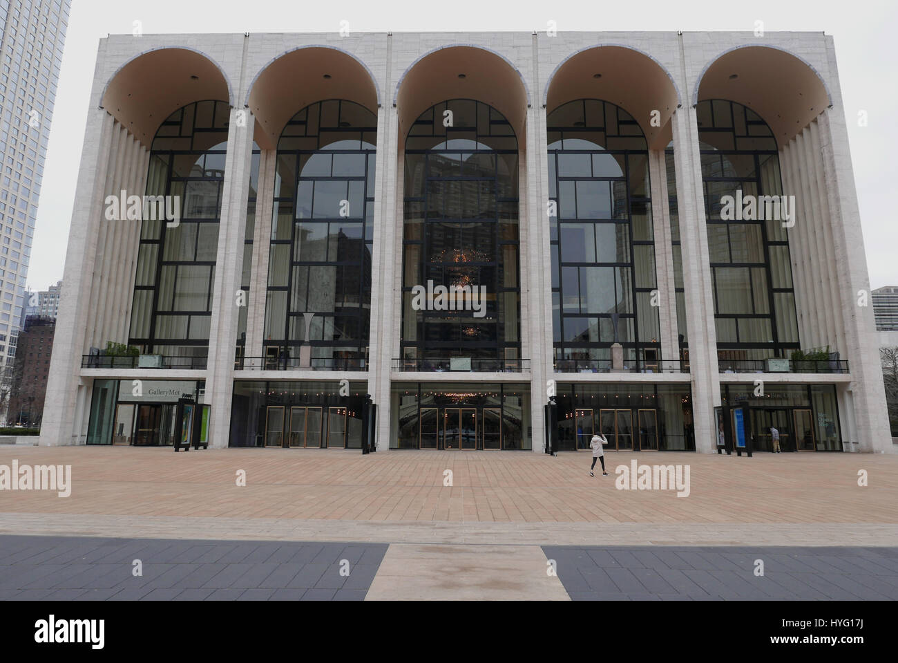 The Metropolitan Opera House at Lincoln Center in New York City - Stock Image