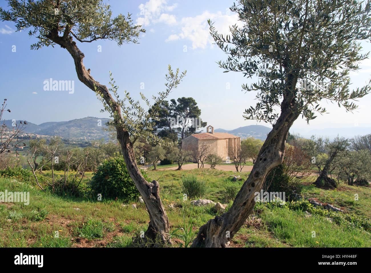 France, Alpes-de-Haute-Provence ( 04 ), Manosque, Chapelle de Toutes Aures ou chapelle Saint-Pancrace // France, - Stock Image