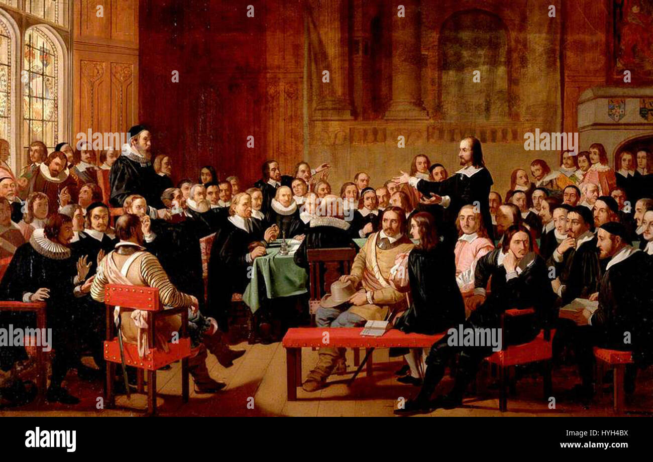 Assertion of Liberty of Conscience by the Independents of the Westminster Assembly of Divines, 1644 - Stock Image