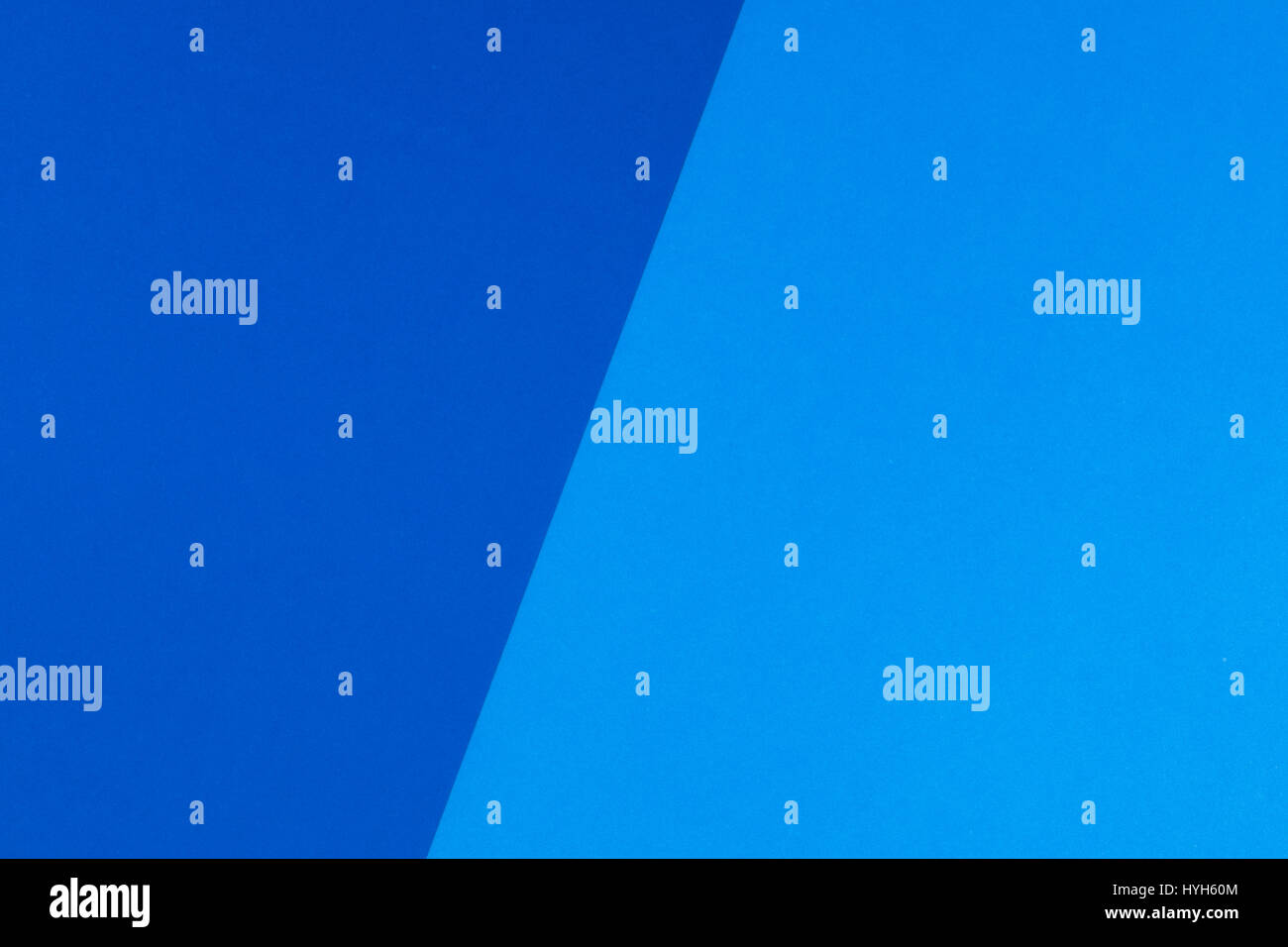Blue and cyan color paper background - Stock Image