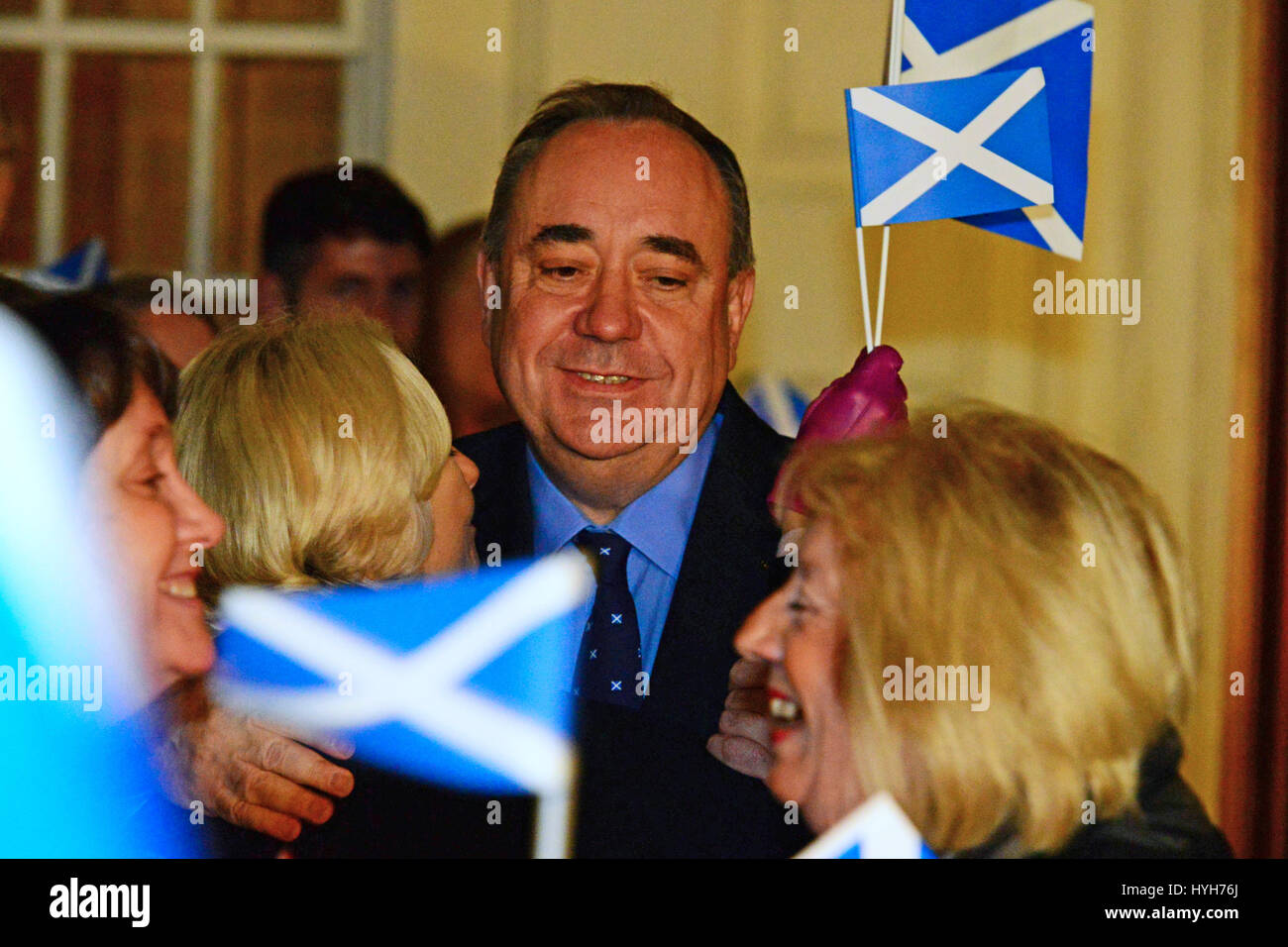 First Minister Alex Salmond And His Wife High Resolution Stock Photography And Images Alamy