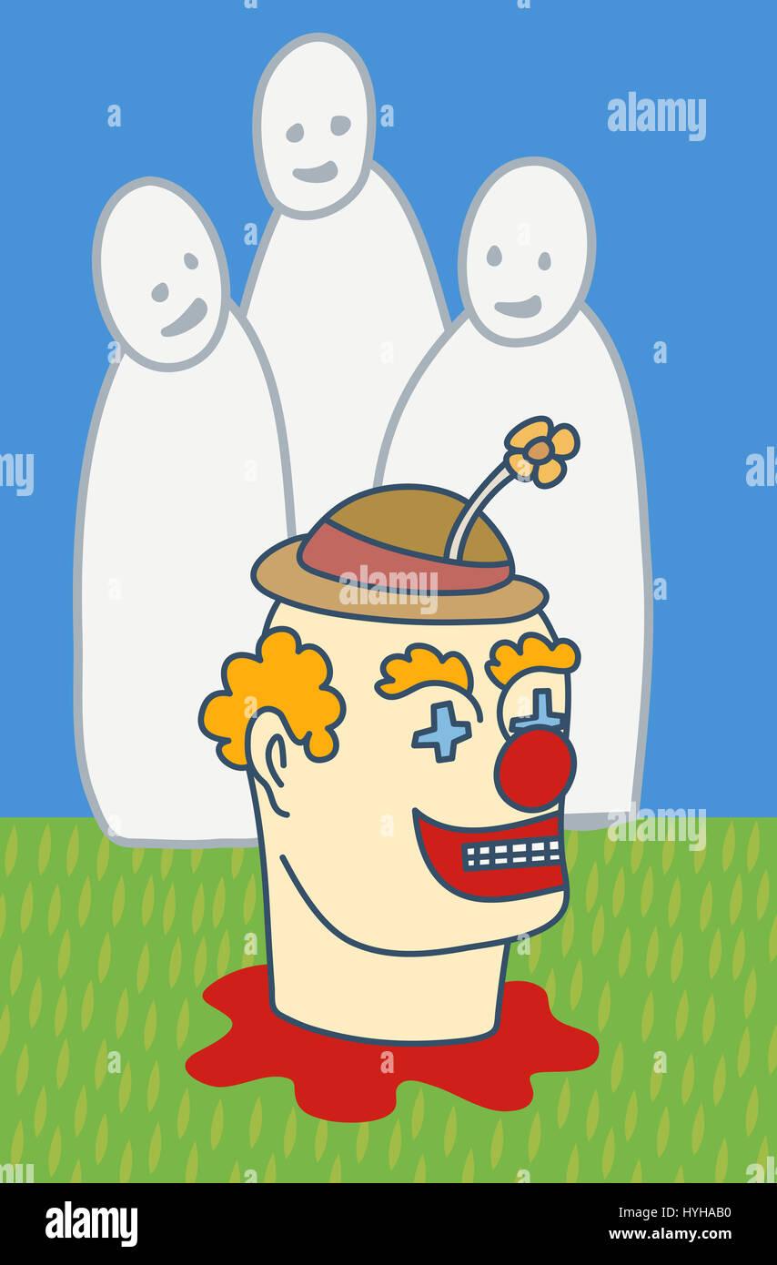 we love clownsStock Photo
