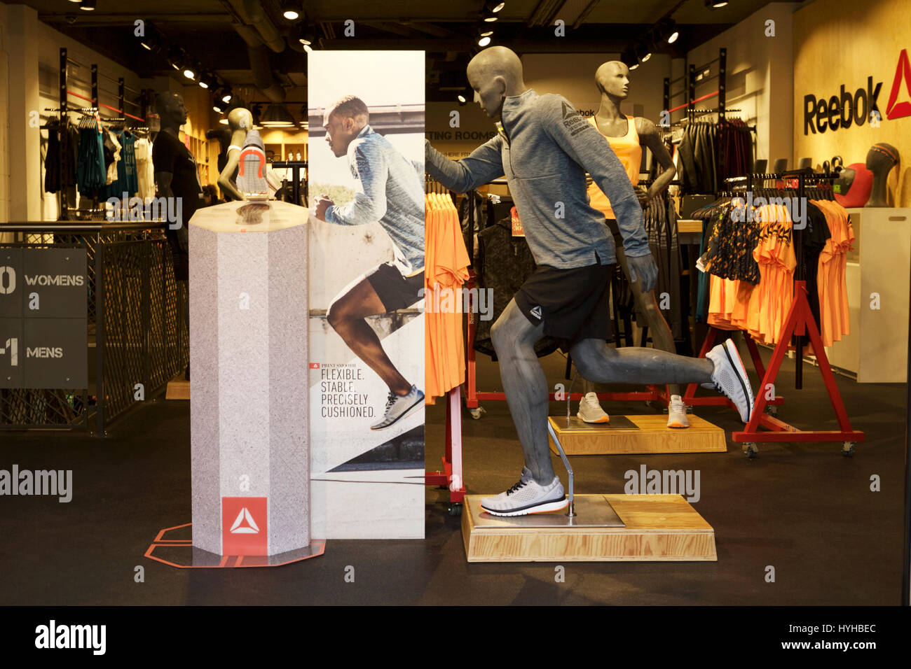 Sports Store Athletic Sports Stock Photos & Sports Store Athletic ...