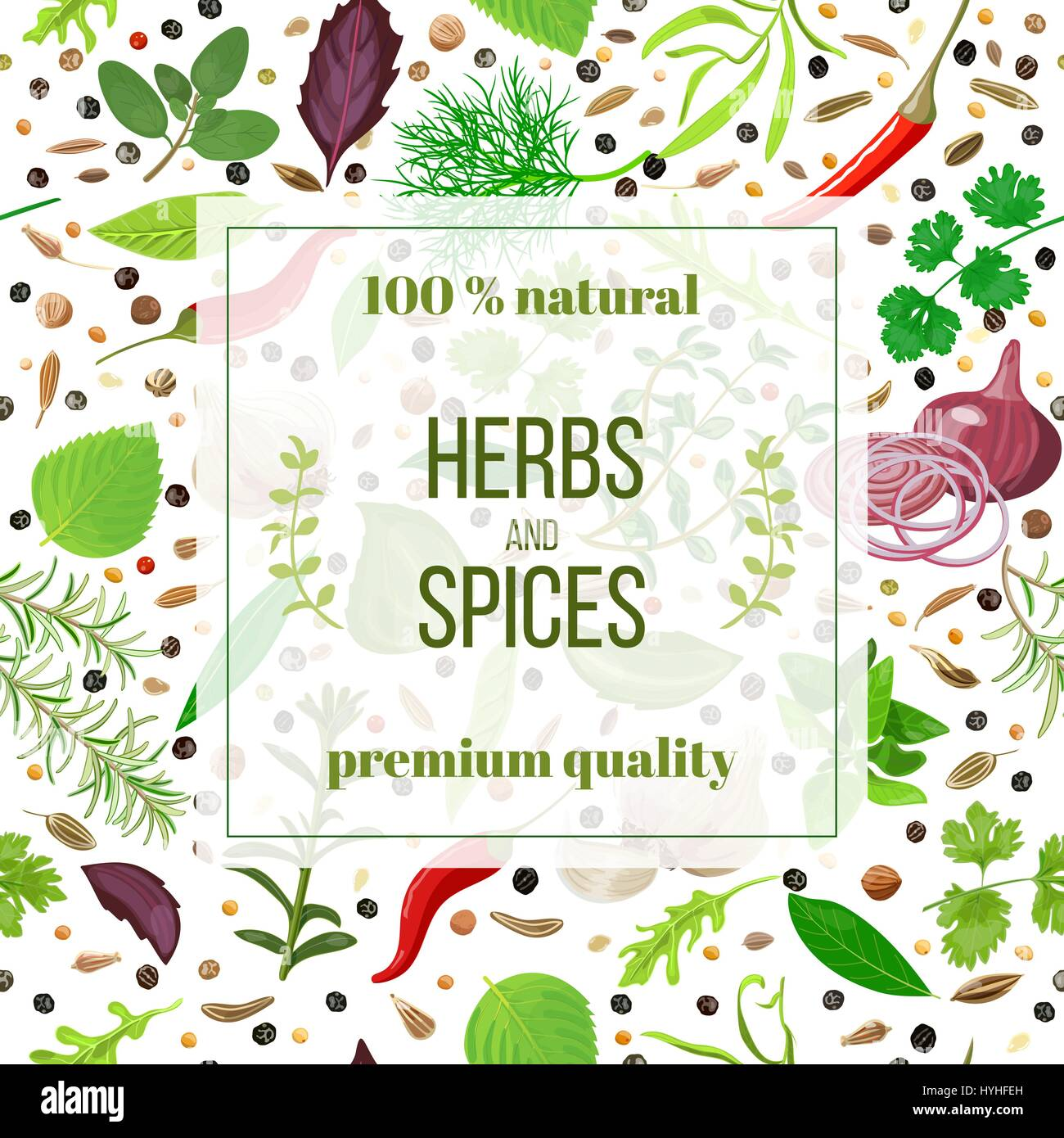 List Of Culinary Herbs Stock Photos & List Of Culinary Herbs