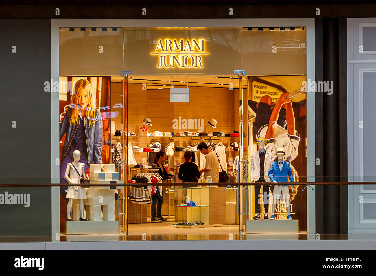armani junior outlet