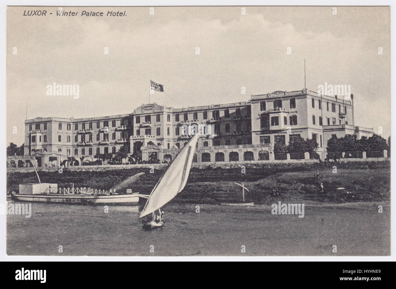 Winter Palace Hotel, Luxor, Egypt - Stock Image