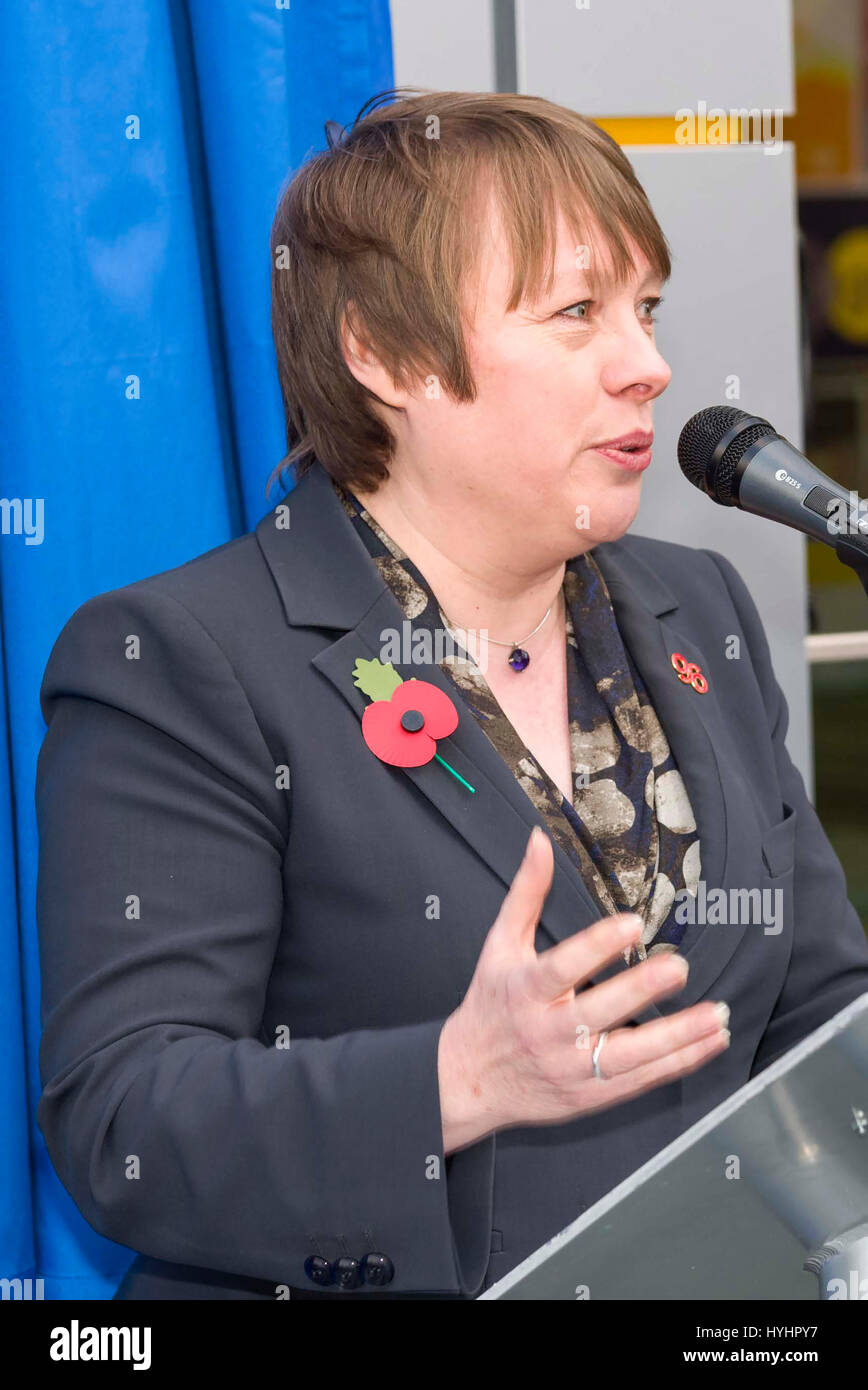 Maria Eagle MP for Garston and Halewood. Liverpool. - Stock Image