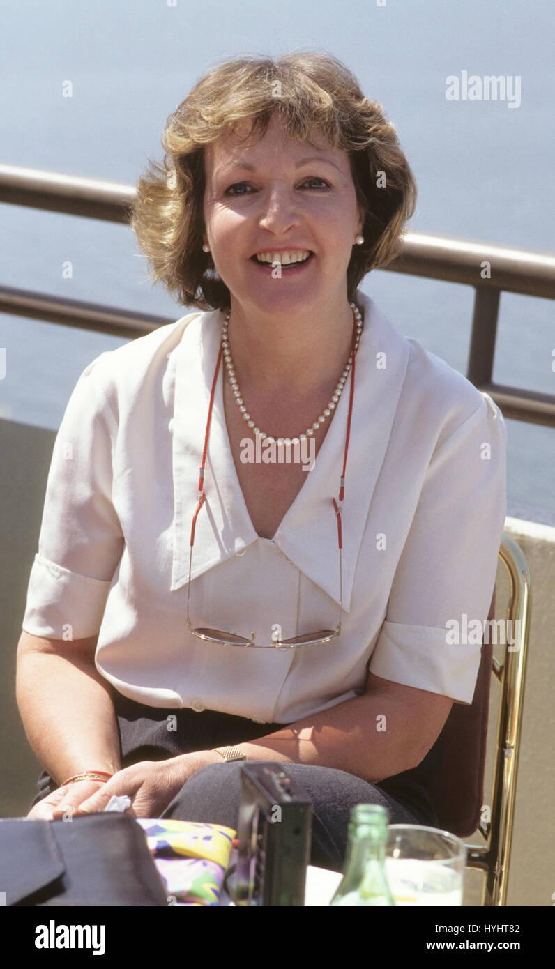 PENELOPE KEITH actress England 1989 - Stock Image