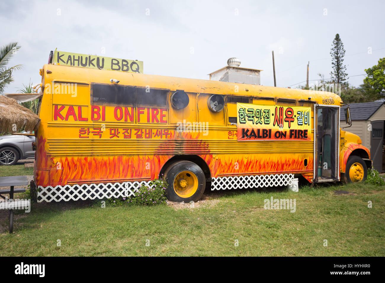 Bbq kalbi food truck