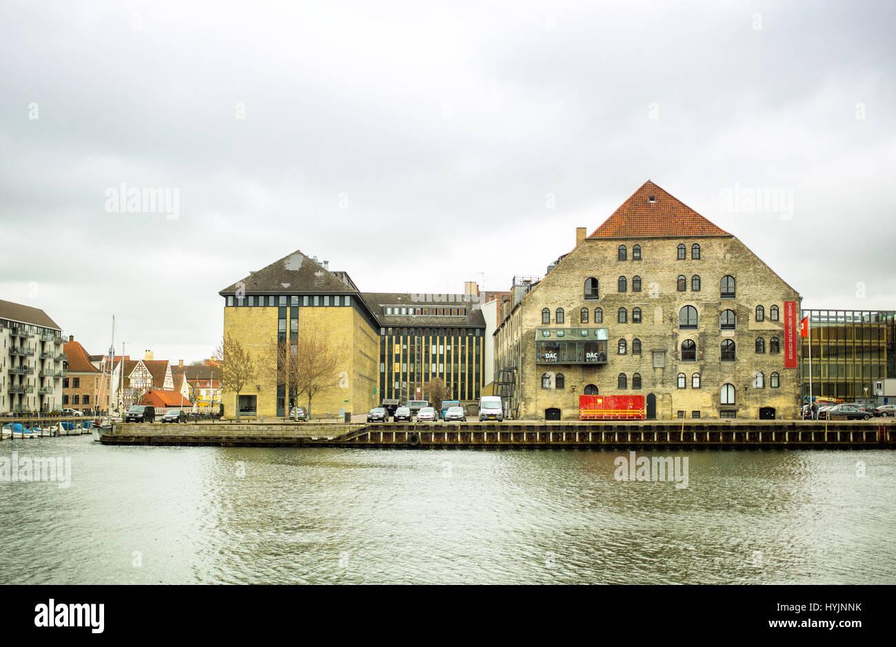 Copenhagen, Denmark - MARCH 29, 2017: Danish Architecture Centre, the main exhibition space in Denmark for architecture. - Stock Image