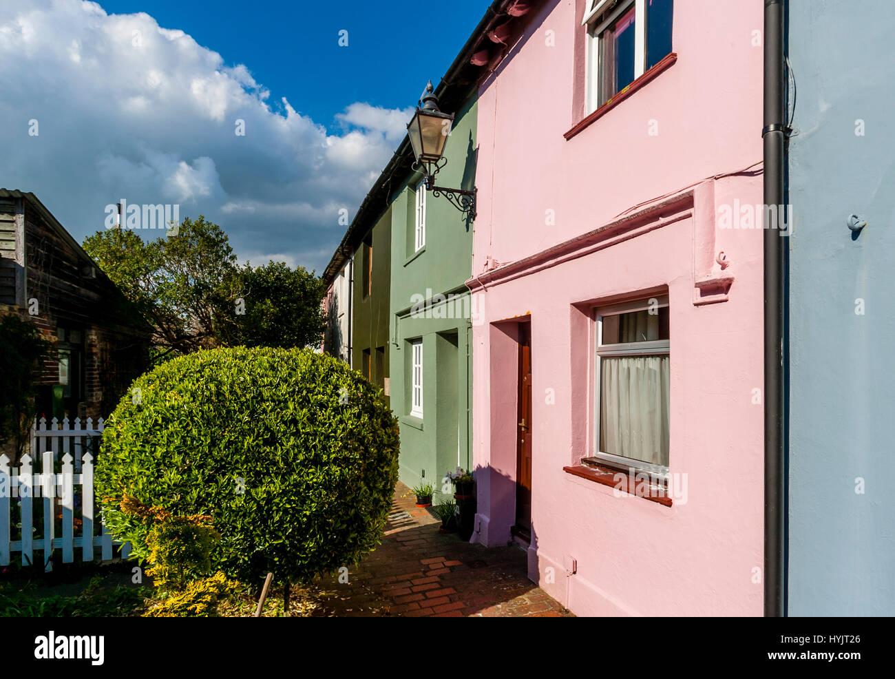 Colourful Houses Cottages Cottage Stock Photos & Colourful Houses ...