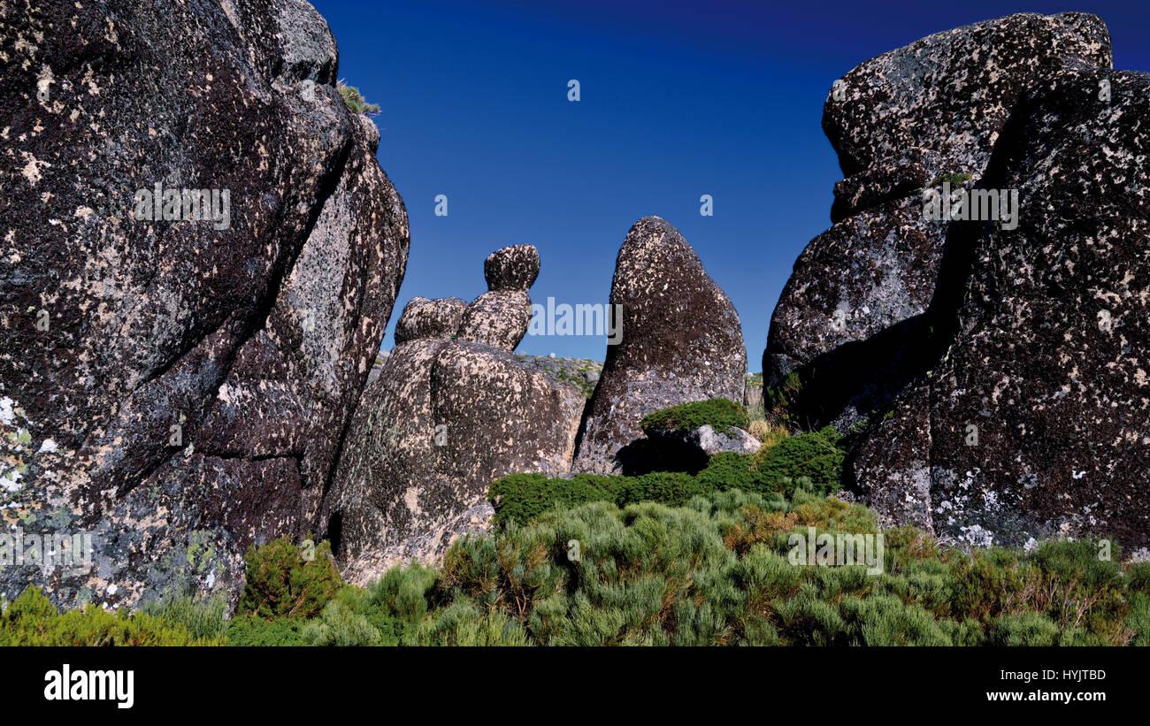 Nature Park Serra da Estrela, Portugal - Stock Image