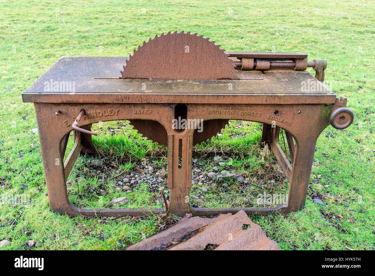Pleasant Saw Bench Stock Photos Saw Bench Stock Images Alamy Ocoug Best Dining Table And Chair Ideas Images Ocougorg