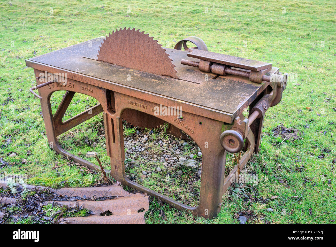 Prime Saw Bench Stock Photos Saw Bench Stock Images Alamy Ocoug Best Dining Table And Chair Ideas Images Ocougorg