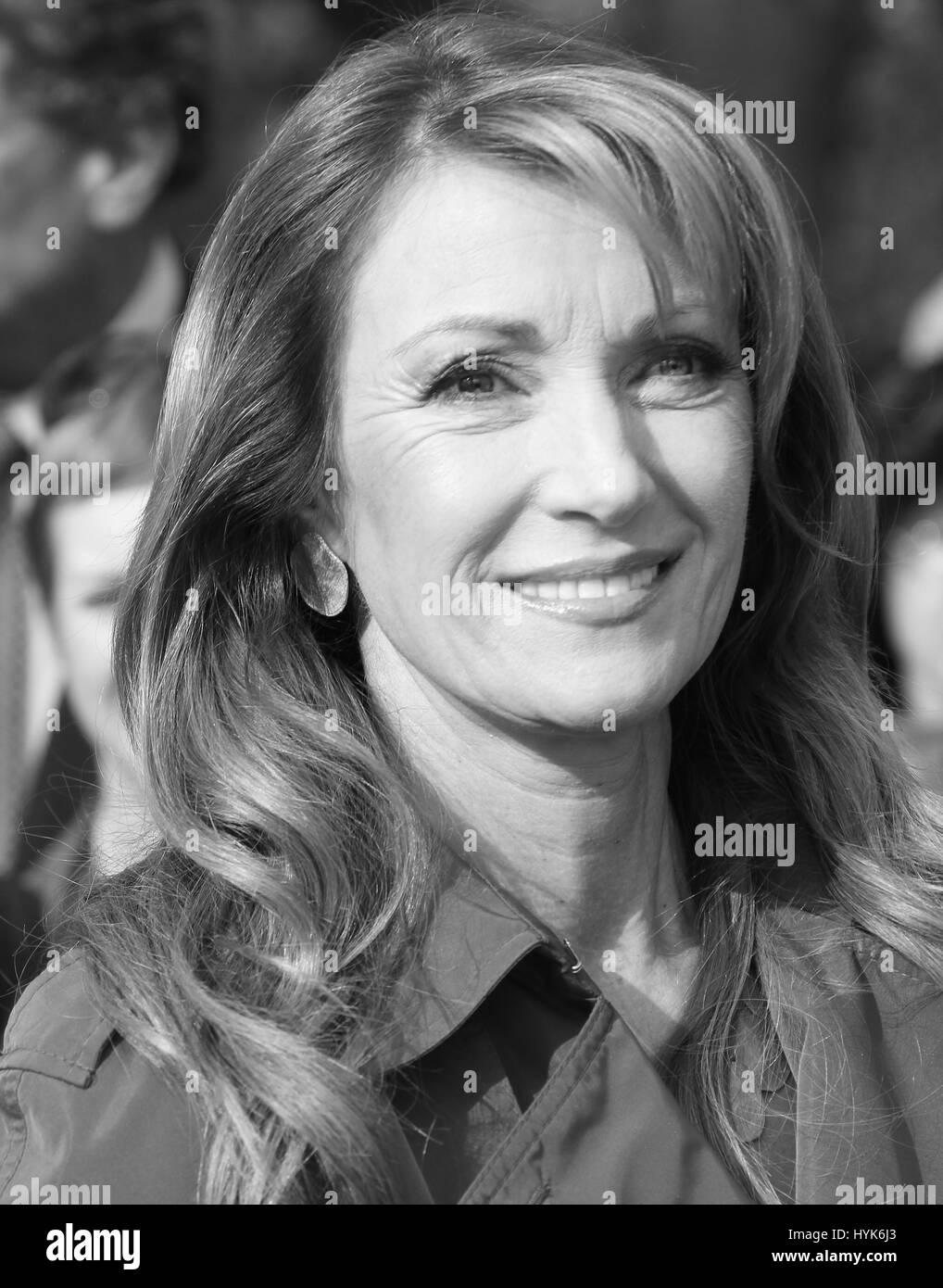 JANE SEYMOUR ACTOR IN LONDON. UK. - Stock Image