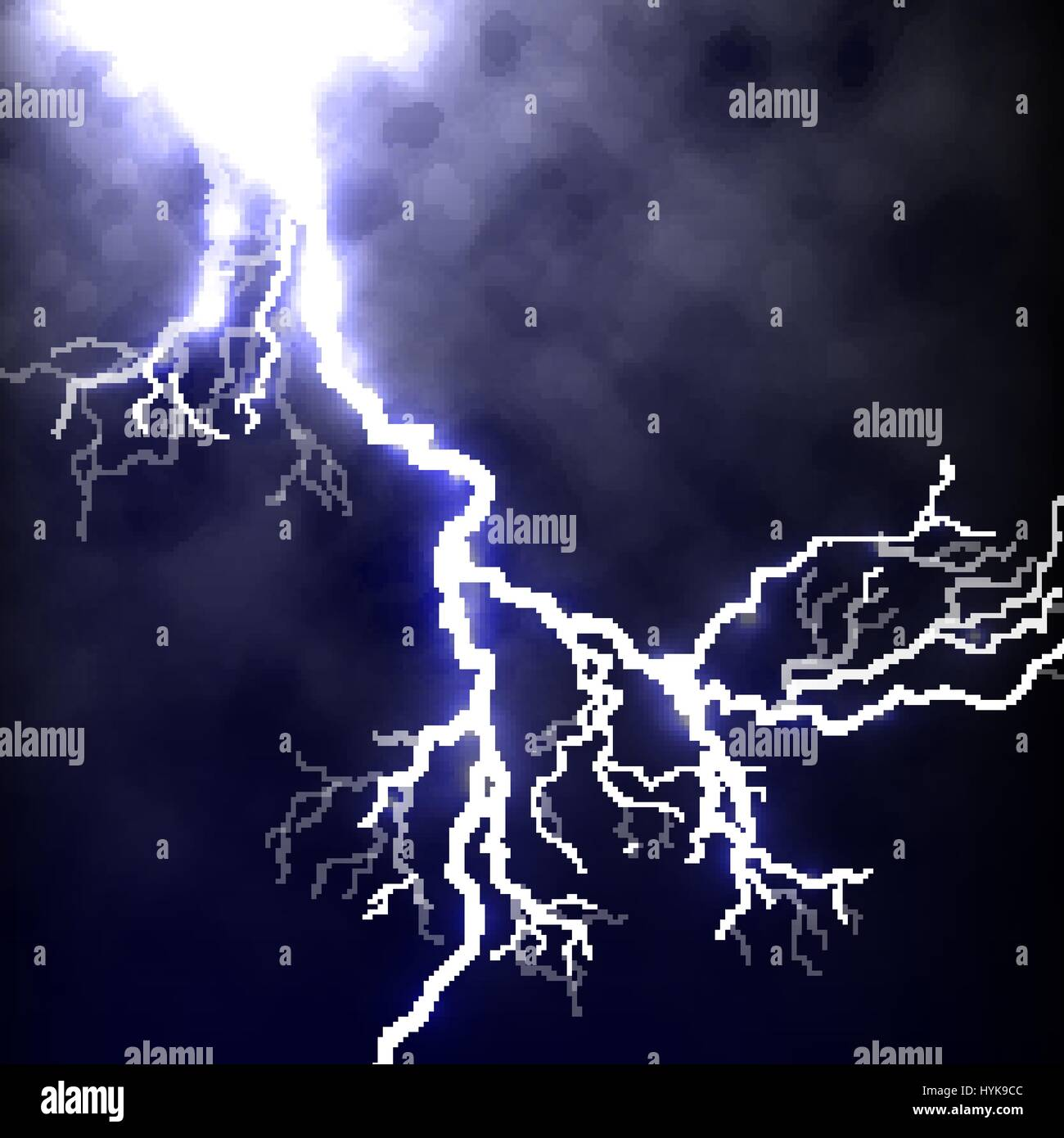 Powerful Storm Stock Vector Images - Alamy