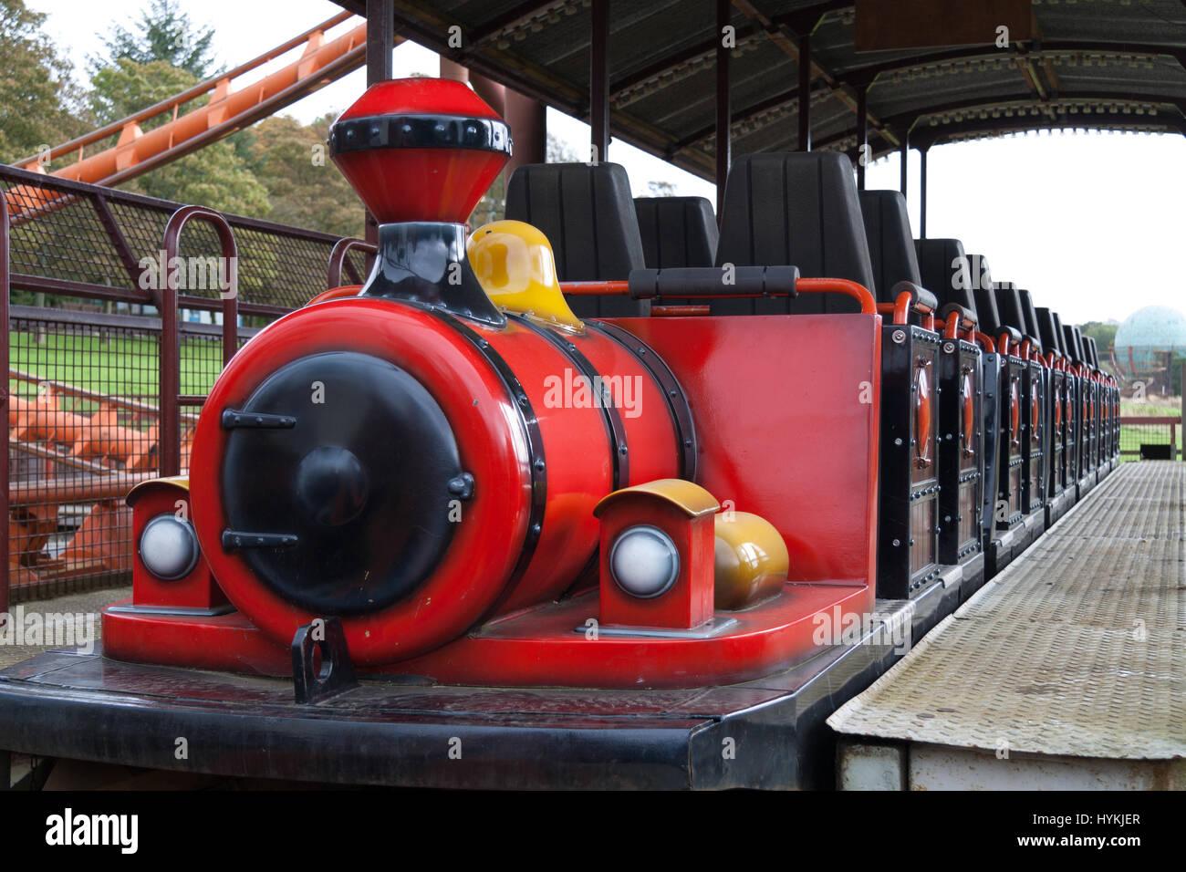 Ayrshire Scotland Haunting Pictures Show Scotland S Best Theme Park Stock Photo Alamy