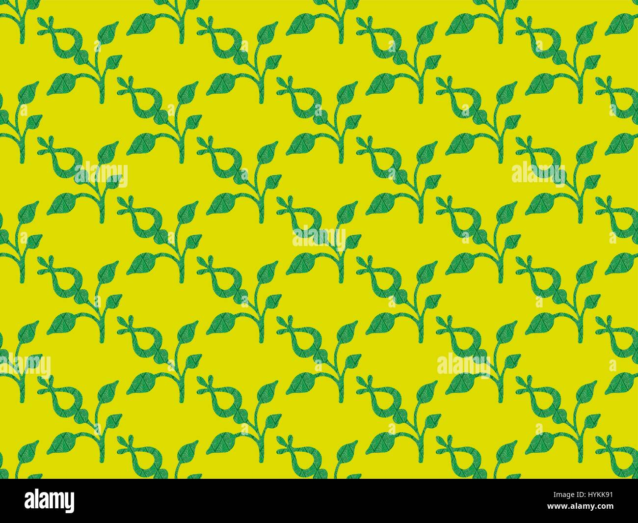 Pattern with vegetables - Stock Vector