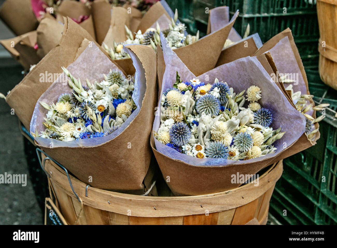 Bouquets Of Dried Flowers Stock Photos Bouquets Of Dried Flowers