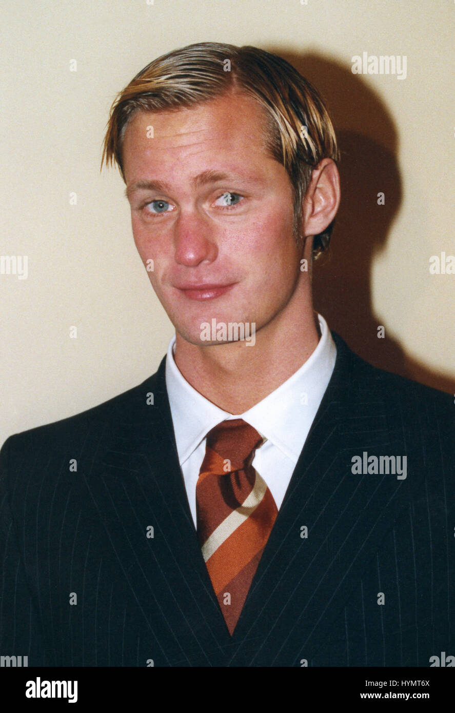ALEXANDER SKARSGÅRD actor and son to the Swedish actor Stellan Skarsgård 2016 - Stock Image