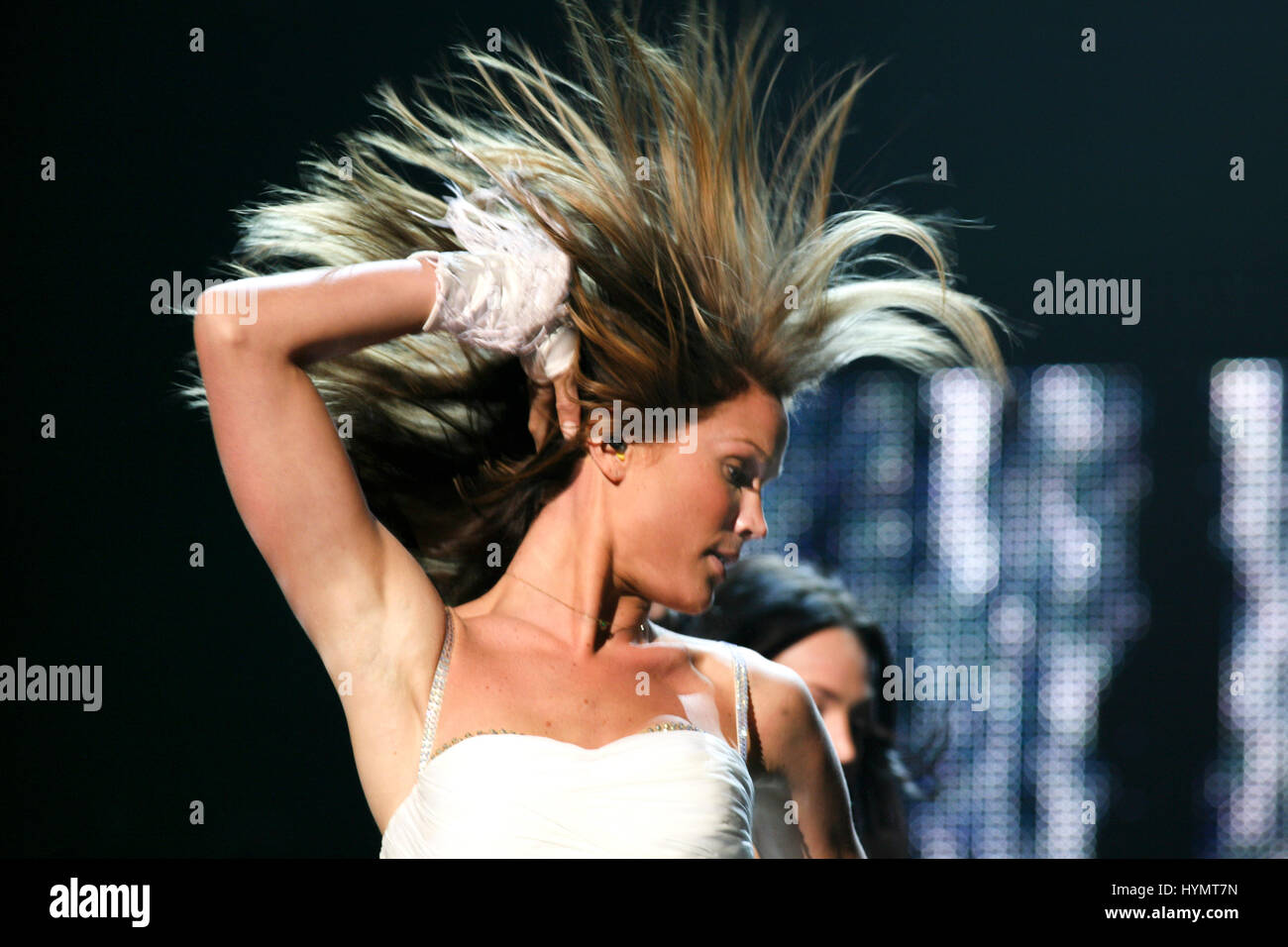 MARIE SERNEHOLT Swedish singer in qualifying contest for  Eurovision song contest 2009 - Stock Image