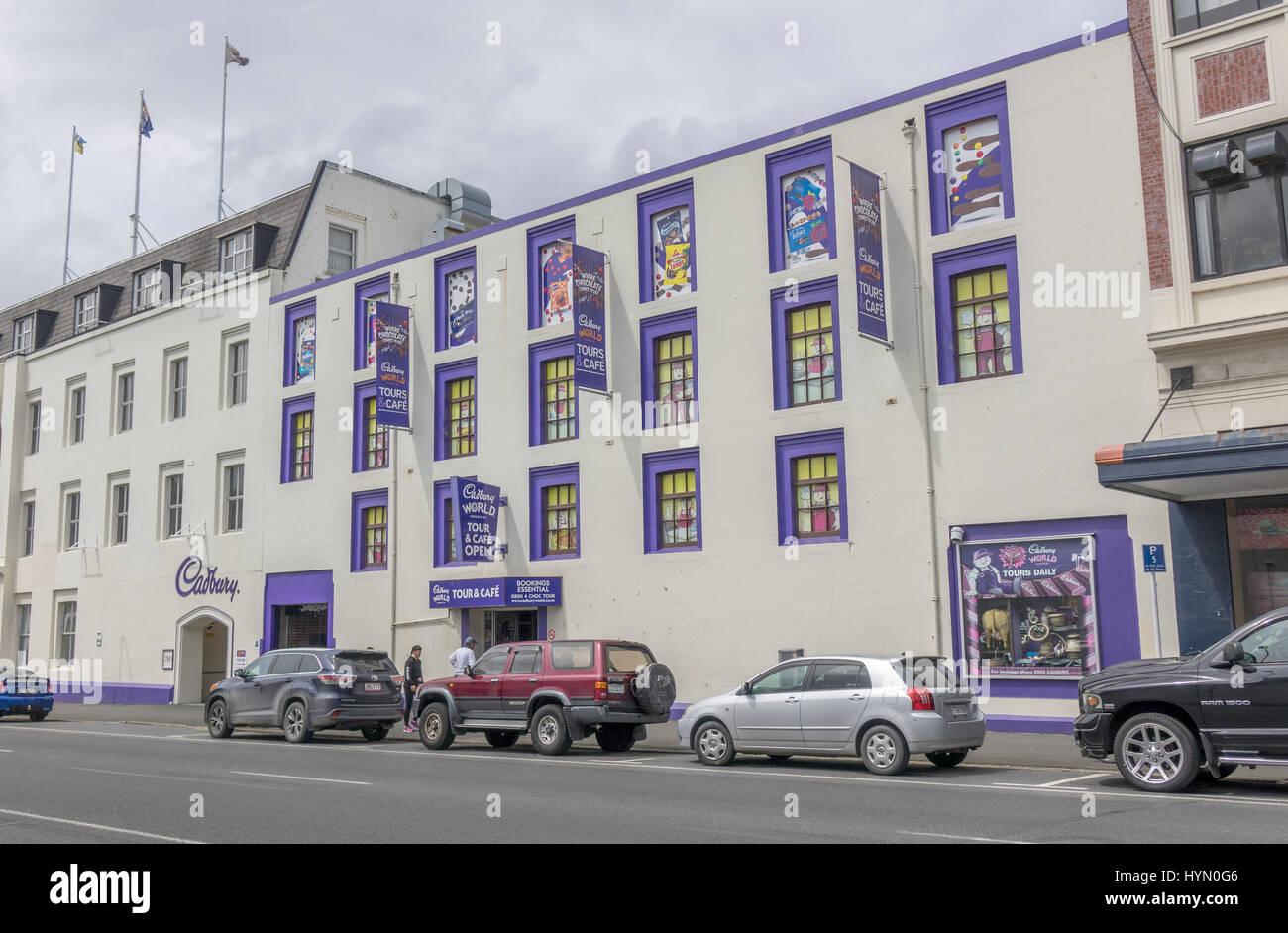 Cadbury Factory New Zealand Tours