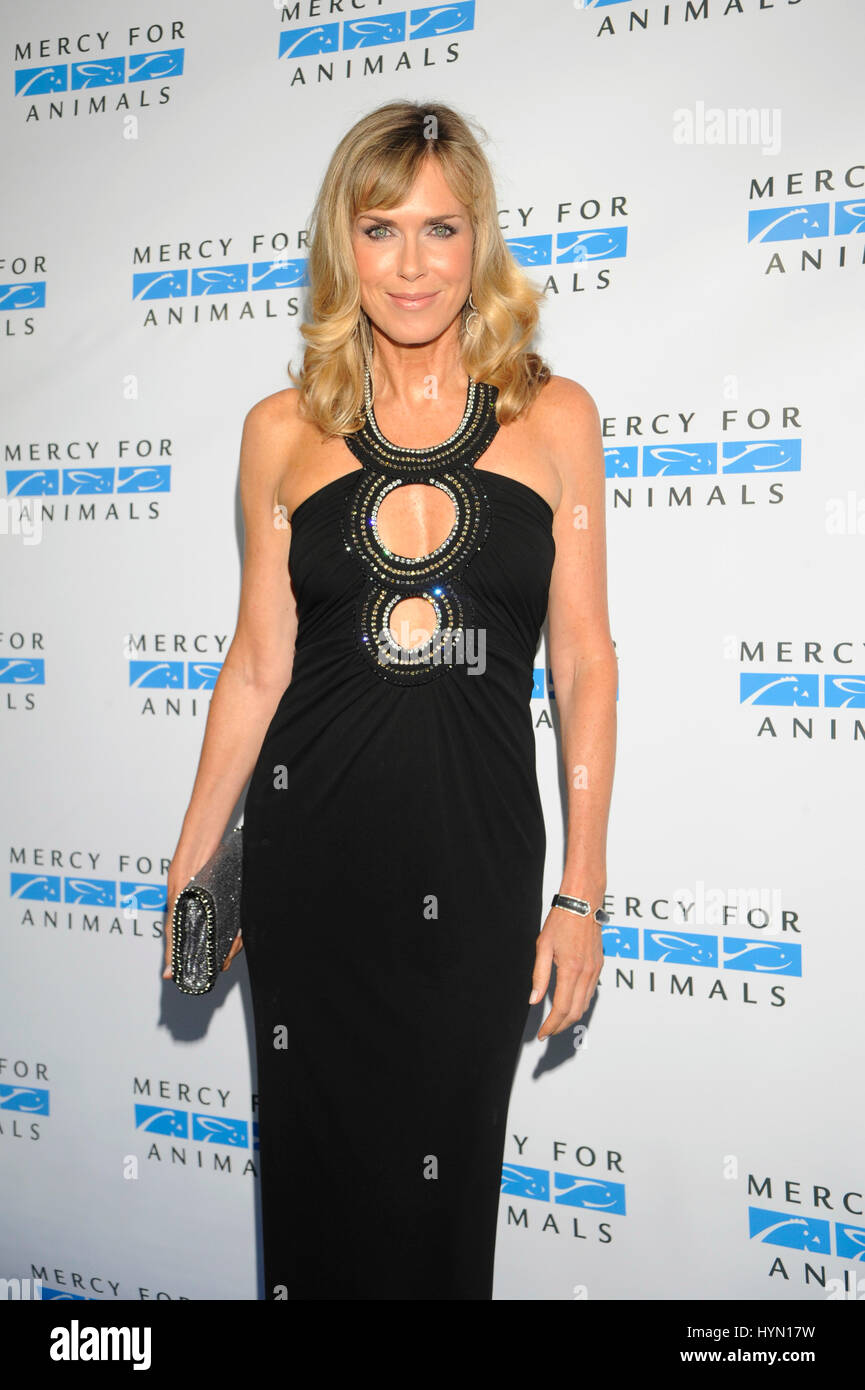 Kathy Freston attends the Mercy For Animals Hidden Heroes Gala at Unici Casa on August 29th, 2015 in Los Angeles - Stock Image