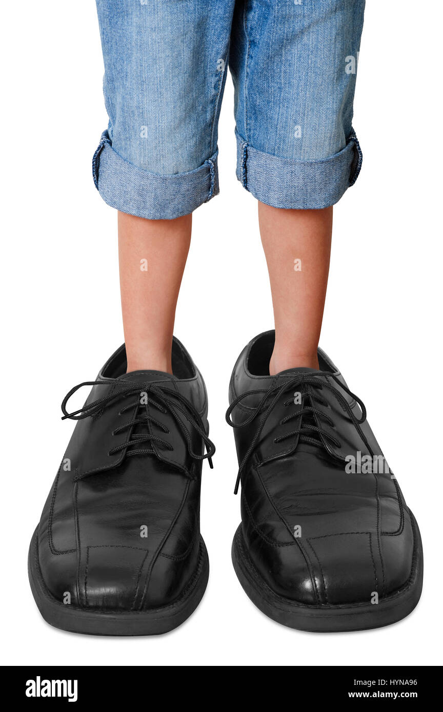 Image result for little kid wearing big shoes