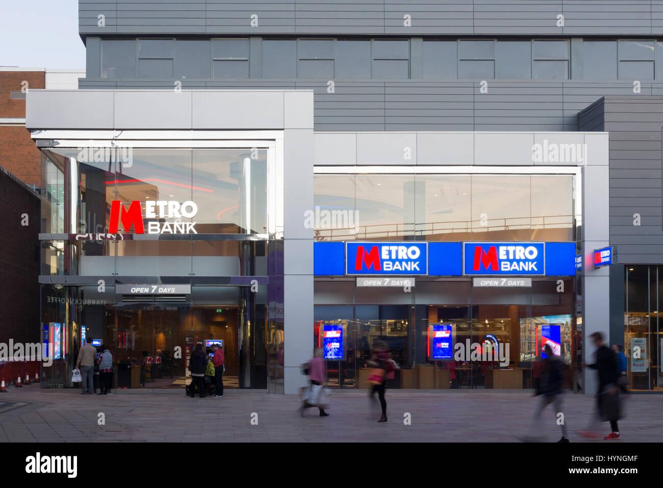 Metro Bank, Basingstoke - Stock Image