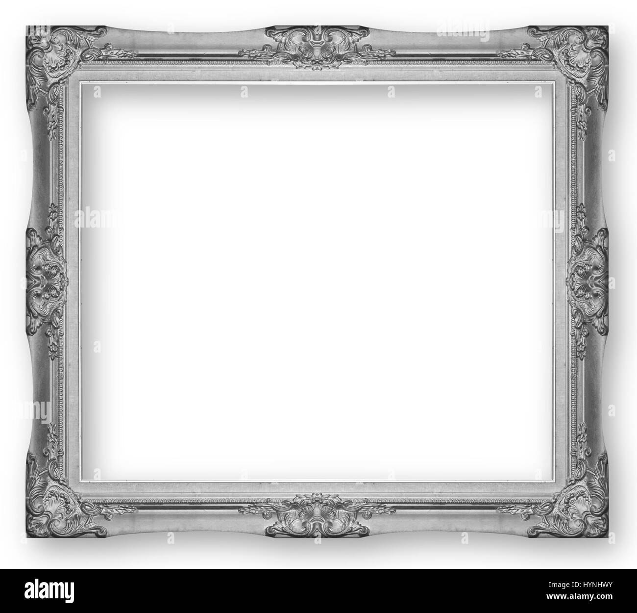 Oval Frame Antique Black and White Stock Photos & Images - Alamy