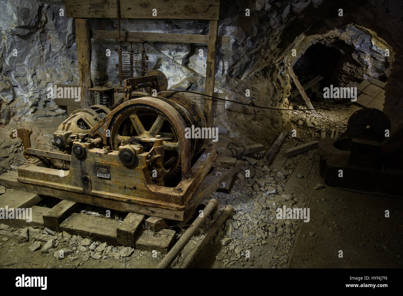 Underground Mining Equipment High Resolution Stock Photography and Images -  Alamy